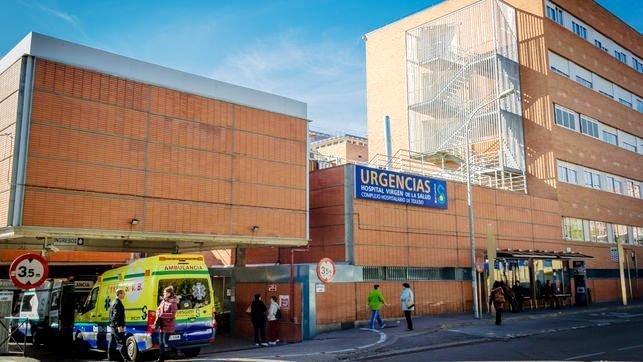 Evacuado al Hospital de Toledo un trabajador quemado con productos químicos