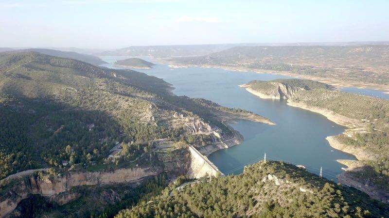 La cabecera del río Tajo gana 24,57 hm3 esta semana y está al 25,58% de su capacidad