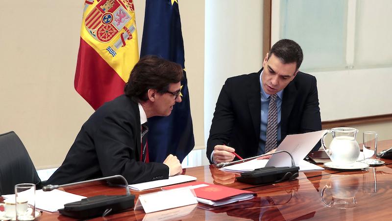 Illa dejará el Ministerio de Sanidad este martes y Sánchez dará a conocer su sustituto