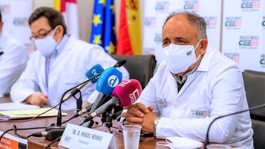 CESM alerta de que los centros sanitarios de CLM están al límite de saturación