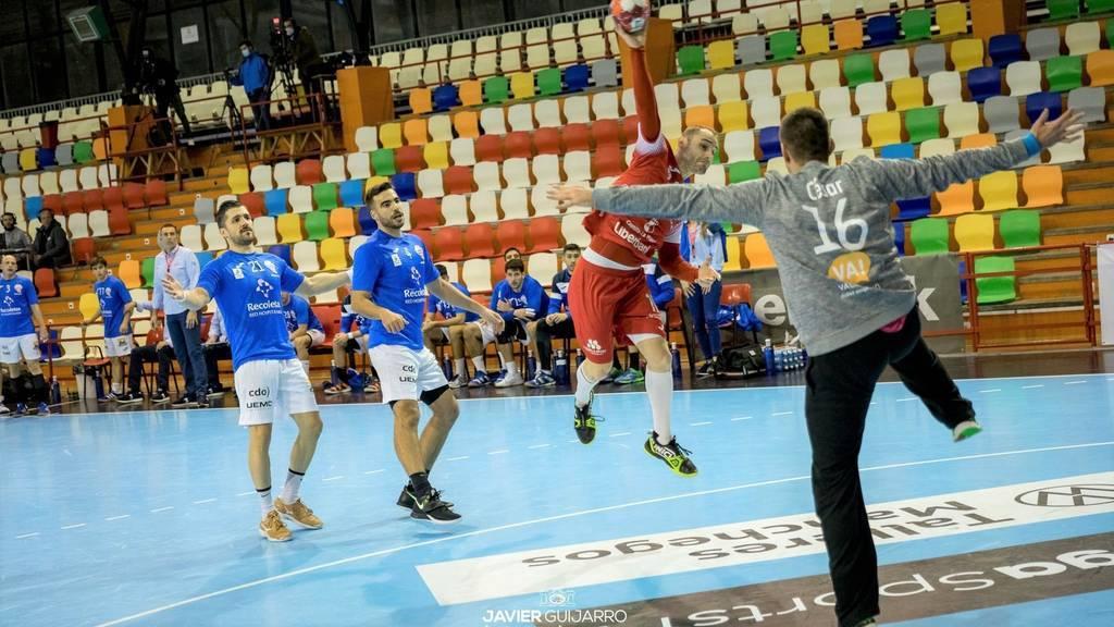 Sufrida victoria del Incarlopsa Cuenca ante el Recoletas Valladolid (26-25)