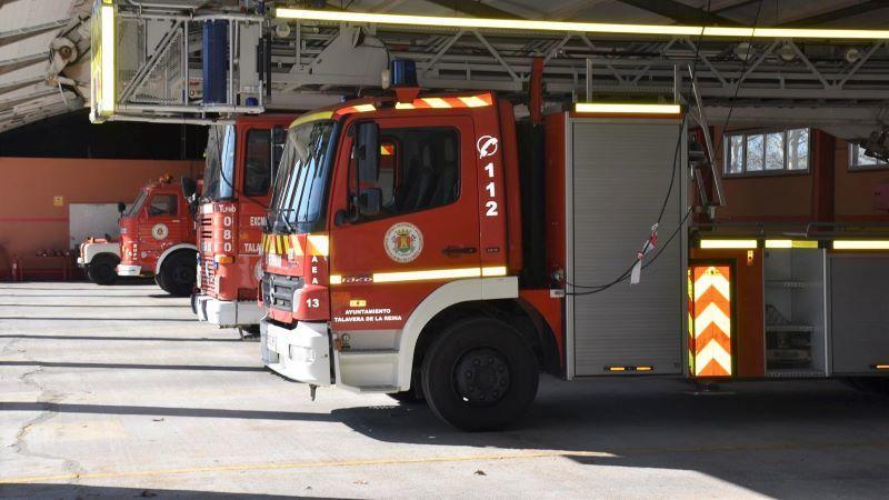Mueren dos personas en un incendio originado en una vivienda de Talavera de la Reina