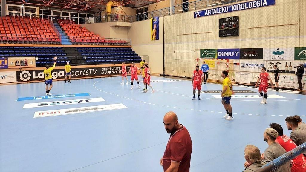 El Bidasoa-Irun gana al Incarlopsa Cuenca en una jornada crucial (32-27)
