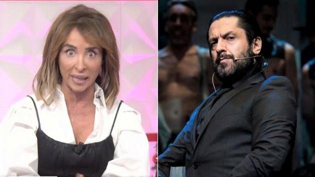 Rafael Amargo a María Patiño: Que tenga cuidado. Ella tiene un hijo y un marido con problemas