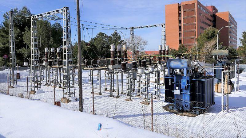 Sin incidencias el cambio de suministro eléctrico del Hospital Universitario de Guadalajara