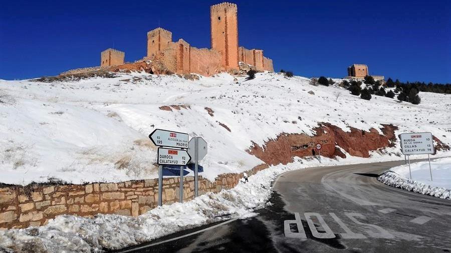 Molina de Aragón vuelve a registrar la temperatura mínima de España con -16,5 grados