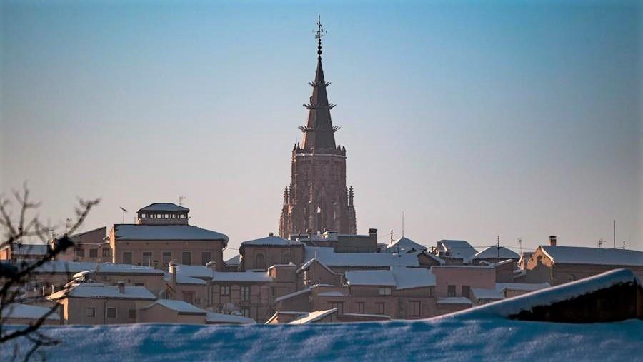'Filomena' también deja daños en el patrimonio monumental de la ciudad de Toledo
