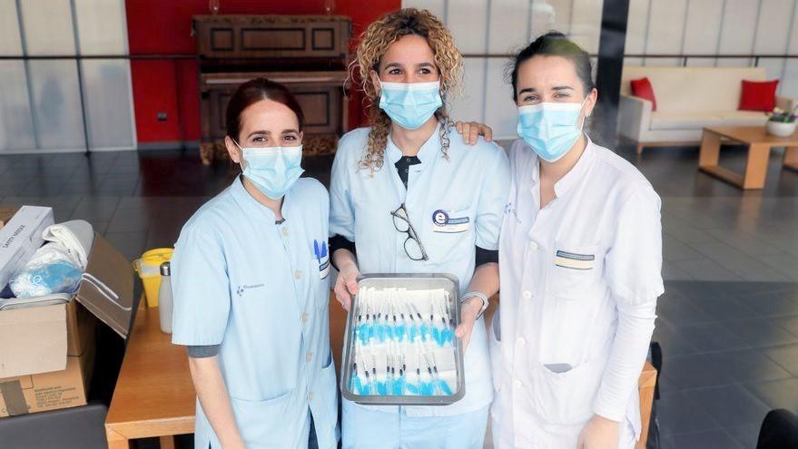 Comienzan a aplicarse las segundas dosis de la vacuna para la inmunidad de coronavirus