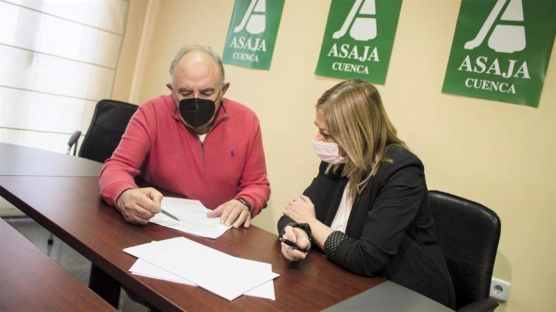 Asaja se reúne el día 25 para evaluar los daños de Filomena en el campo de CLM