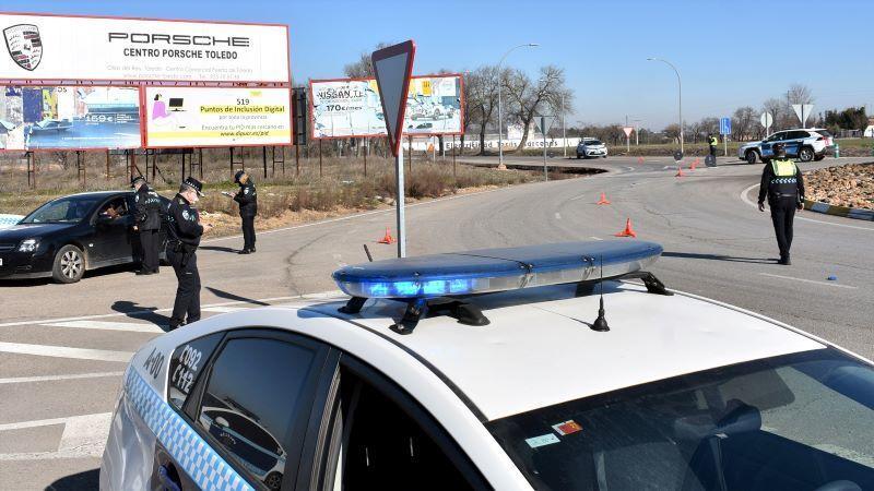 La Policía de Ciudad Real refuerza los controles para garantizar el confinamiento