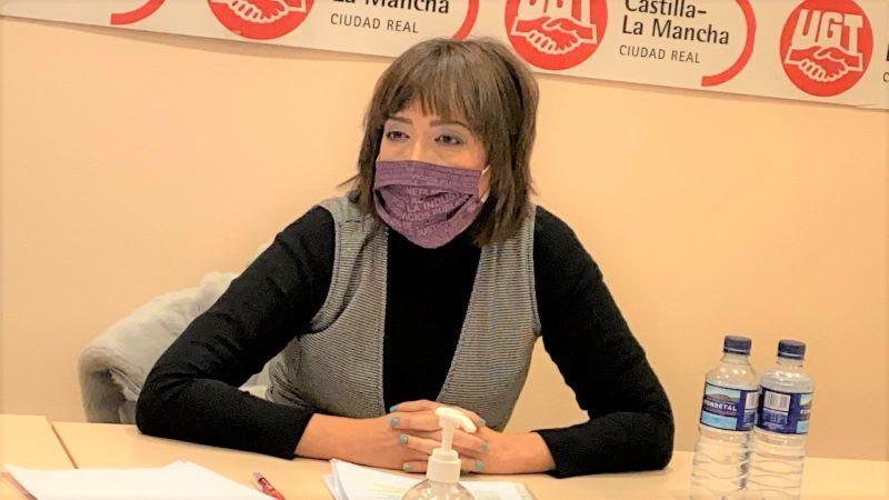 Alfonsi Álvarez Magdaleno, elegida nueva secretaria general de UGT Ciudad Real