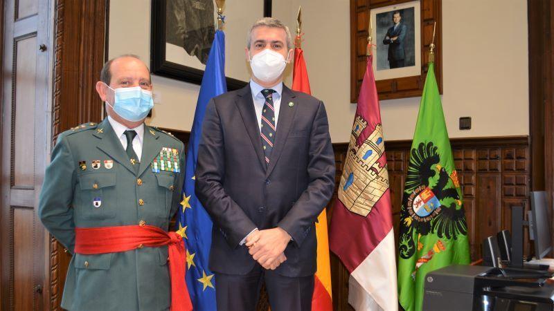 Diputación transmite al nuevo jefe de la Guardia Civil su disposición a seguir colaborando