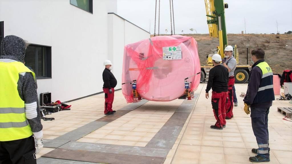 Comienza la instalación del equipamiento de alta tecnología en el nuevo Hospital de Toledo