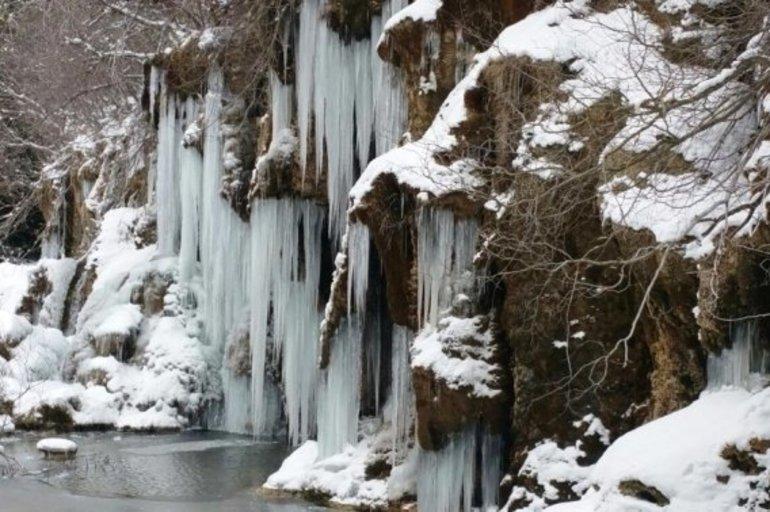 Se Congela Parte Del Nacimiento Del Río Cuervo Por Temperaturas De Hasta 12 Grados