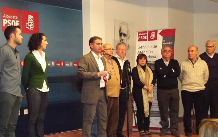 La oficina de atenci n ciudadana del psoe albacete recibe for Oficina del consumidor albacete