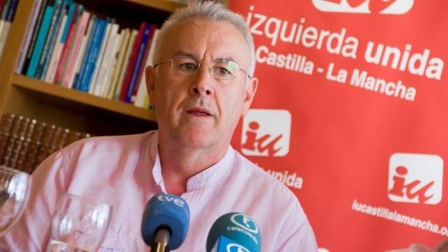 El coordinador nacional de IU, Cayo Lara - Archivo