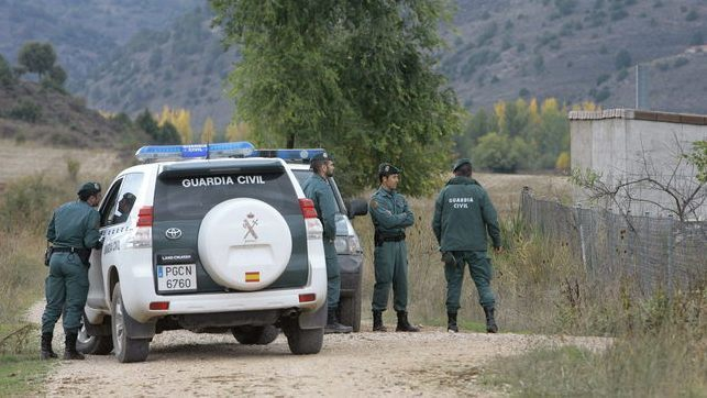 En la imagen de archivo agentes de la Guardia Civil participando en tareas de búsqueda de una persona