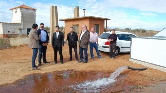 Fomento invierte euros en la red de agua de - Contactos en villagarcia ...