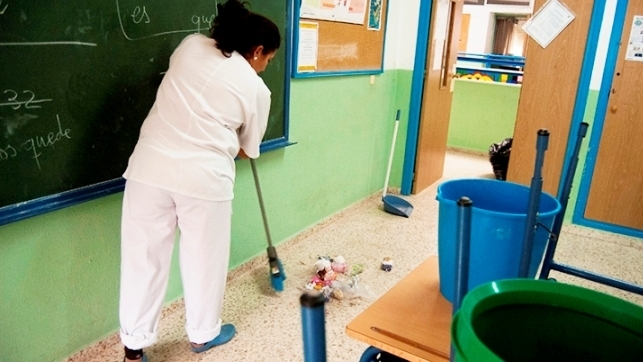 Trabajadores de limpieza de colegios de toledo plantean for Empresas de limpieza en toledo