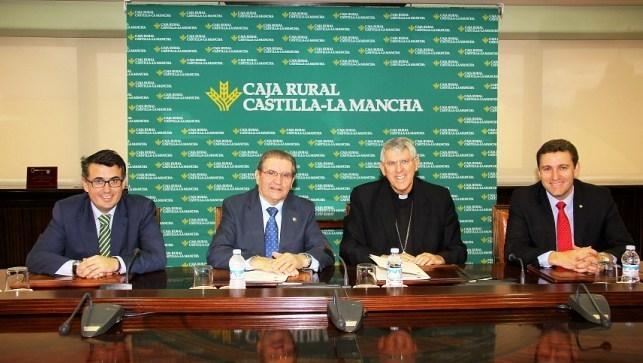 Caja rural clm respalda la labor social del arzobispado de for Caja rural de toledo oficinas