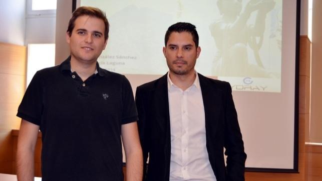 Los exalumnos de la UCLM, Alejandro González y José Luis García, han creado un sistema de envió de archivos en 'la nube'