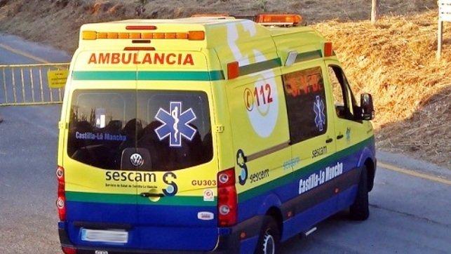 Muere una persona y otra herida tras la colisión frontal de dos coches en Poblete