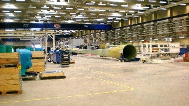 Vestas invertirá 29 millones de euros en remodelar la planta de Daimiel (Ciudad Real)