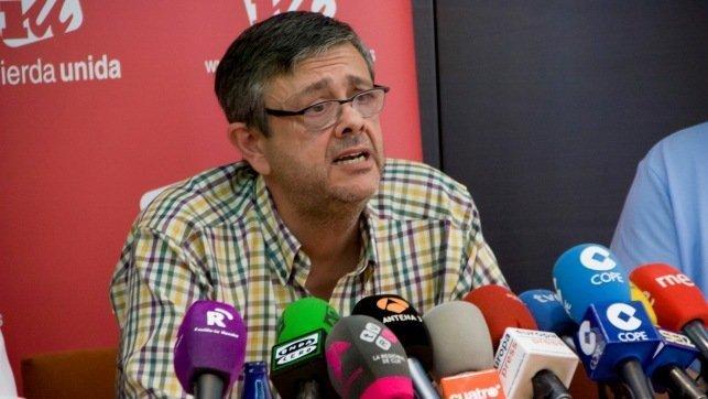 El portavoz de la Plataforma en Defensa de la Ley de Dependencia de CLM, José Luis Gómez Ocaña - Archivo