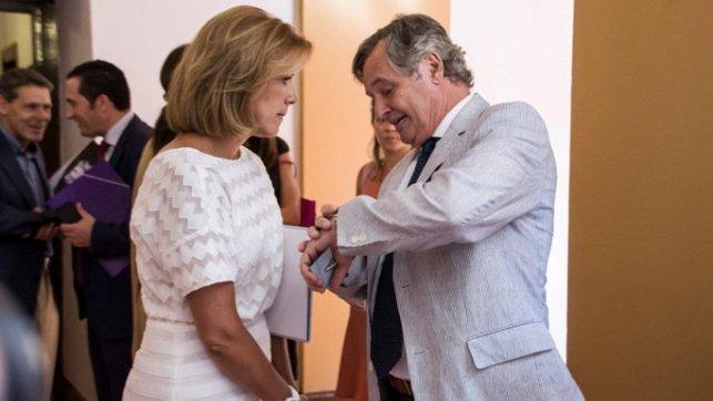 El marido de cospedal l pez del hierro fue socio de una for Lopez del hierro decoracion