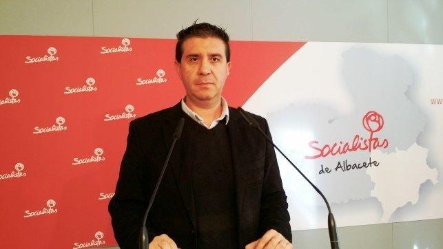 El secretario de Organización provincial del PSOE en Albacete, Santiago Cabañero - Archivo
