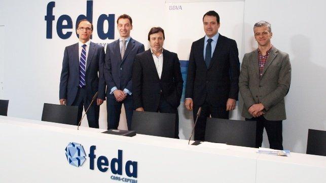Un convenio entre feda y bbva ayudar a las empresas for Oficinas bbva toledo