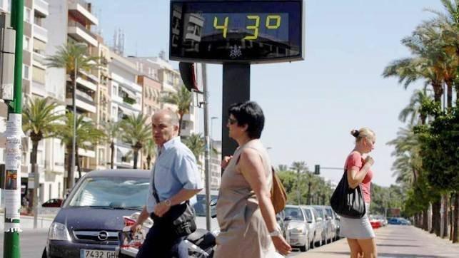 Toda Castilla-La Mancha en alerta por temperaturas asfixiantes de más de 40 grados