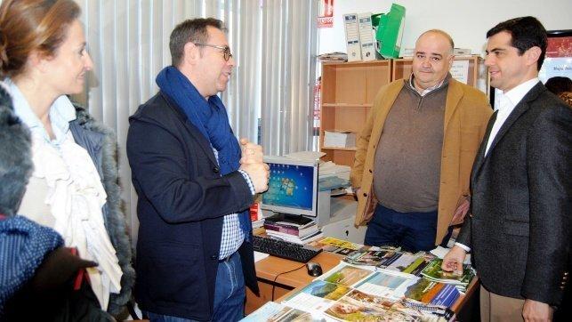 Albacete inaugura un punto de informaci n multimedia en la for Oficina de turismo cuenca
