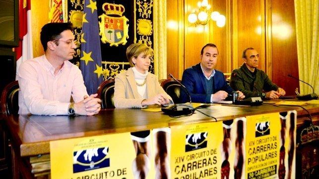 Circuito Carreras Populares Cuenca : Unos atletas competirán en el xiv circuito de