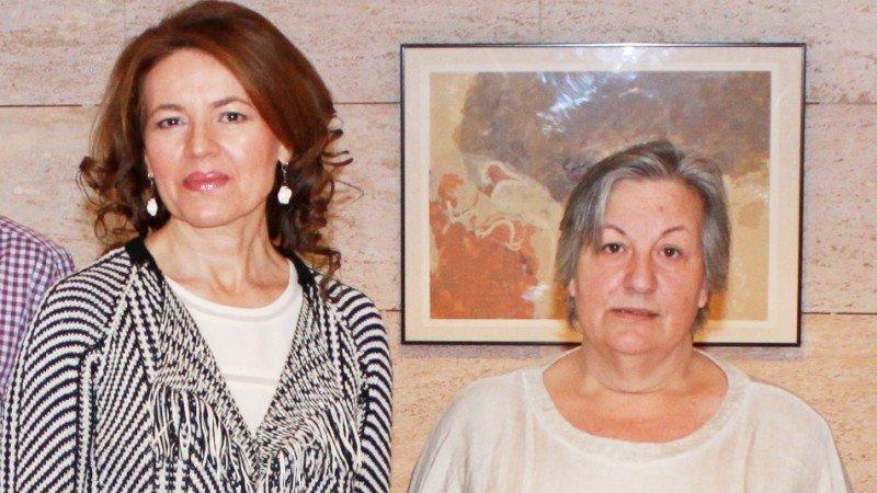 La consejera de Bienestar Social de CLM, Aurelia Sánchez, y la presidenta de la Plataforma de la Ley de la Dependencia, Aurelia Jerez, en una imagen de archivo