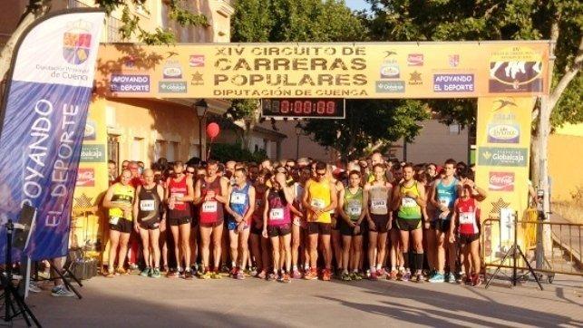Circuito Carreras Populares Cuenca : Saúl ordoño y mª Ángeles magán fueron vencedores en la