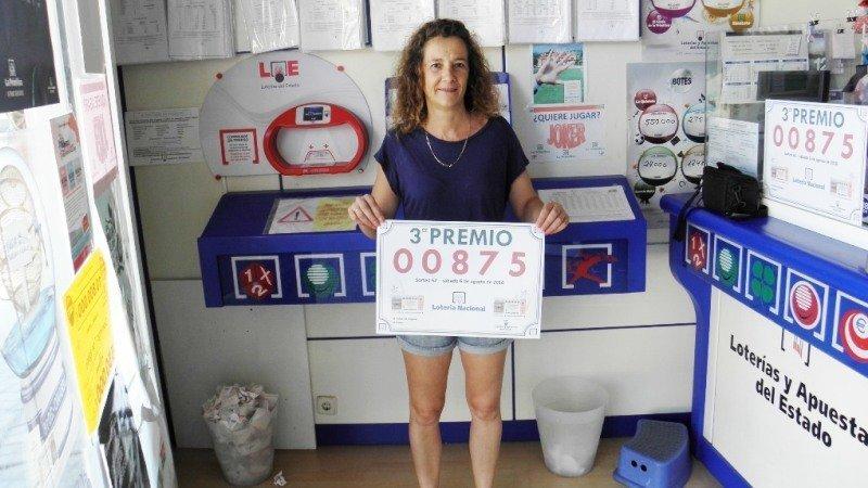 El tercer premio de la loter a dotado con euros vendido en el casar - El tiempo en la senia tarragona ...