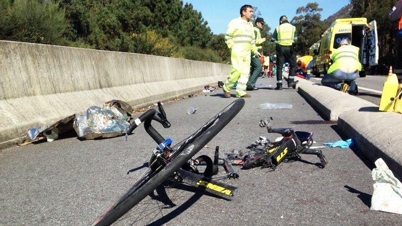 Muere un joven ciclista de 23 años tras ser atropellado por un vehículo en carretera