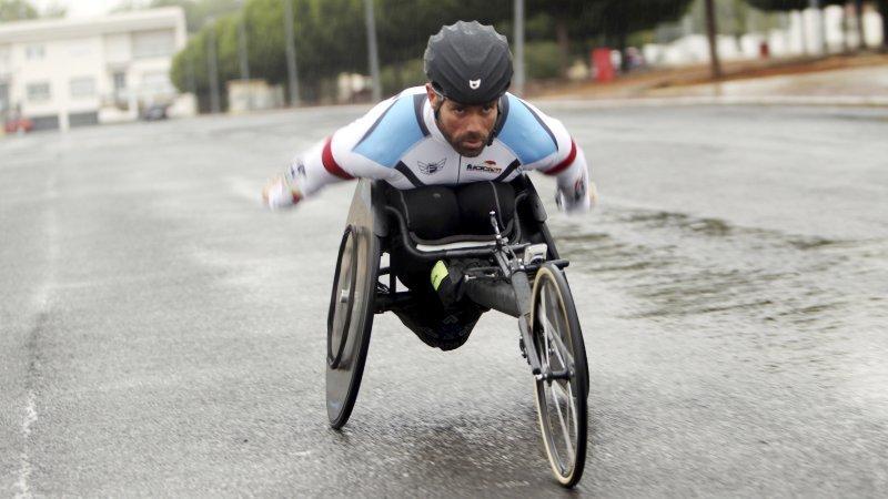 El atleta paralímpico Gustavo Molina, a la meca del maratón de Nueva York - EFE/Mariano Cieza