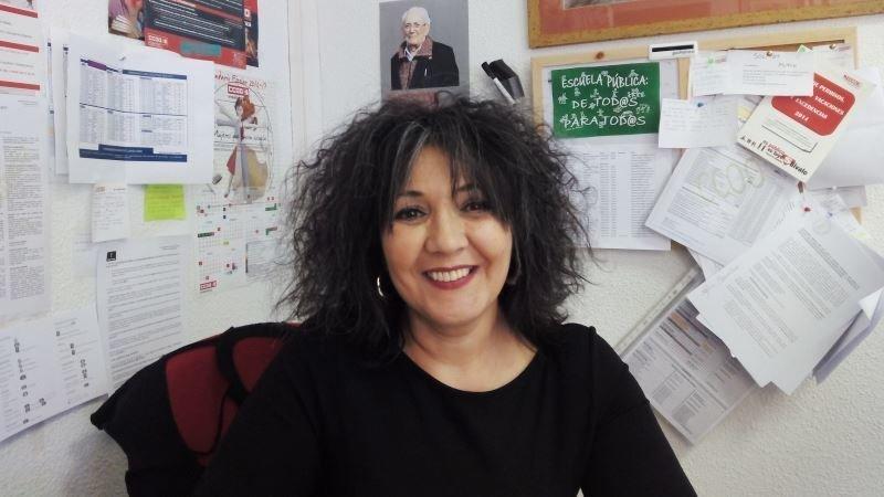 Susana fern ndez seguir al frente de la federaci n de Comisiones obreras ensenanza toledo