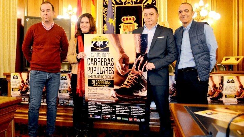 Circuito Carreras Populares Cuenca : El xv circuito de carreras populares cuenca mantiene