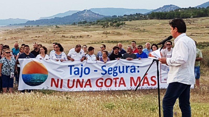 Ribereños sobre las protestas en defensa del trasvase: usaron el populismo por bandera