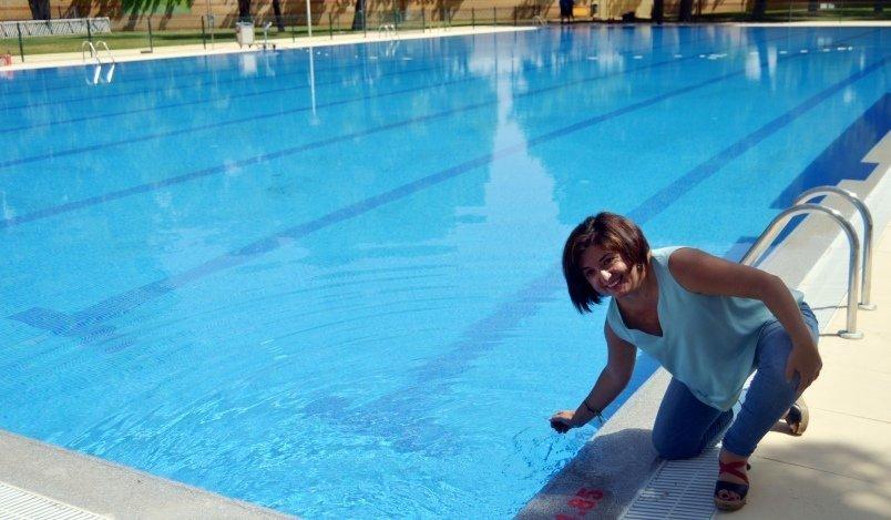 Abre la piscina ol mpica del polideportivo rey juan carlos for Piscina juan de toledo
