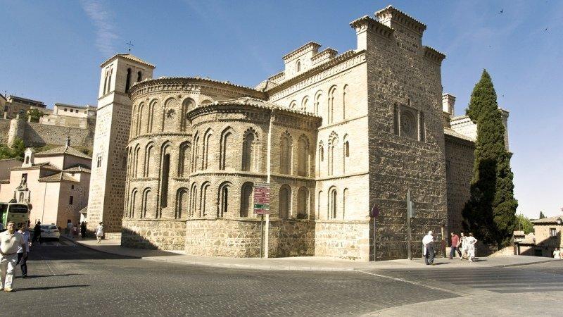 Resultado de imagen de iglesia de santiago el mayor toledo
