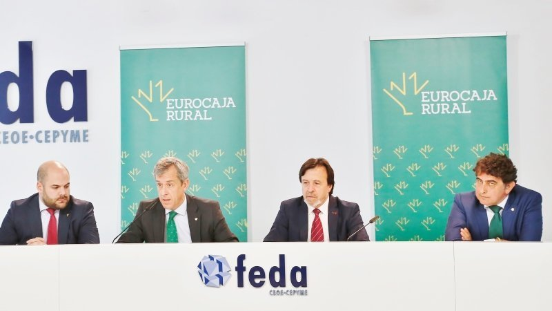 Eurocaja Rural y FEDA suscriben un convenio para reactivar la actividad económica