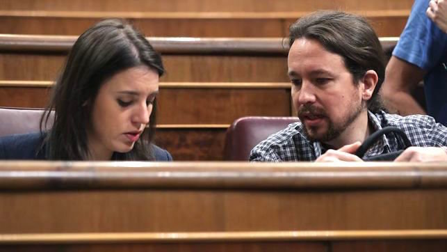 Iglesias y Montero suspenden su agenda por la hospitalización de sus gemelos