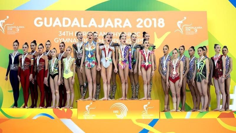 Resultado de imagen de campeonato gimnasia ritmica guadalajara 2018