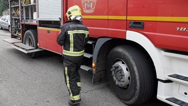 Encuentran el cadáver de un hombre calcinado en el incendio de una caseta