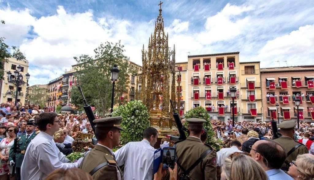 La procesión del Corpus Christi de Toledo el día 11 será en el interior de la catedral