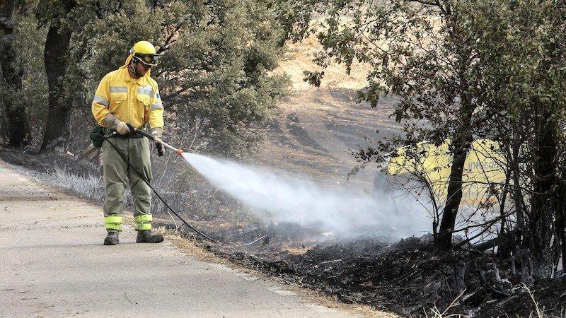 Declarados dos incendios en las localidades de El Bonillo y Villarrobledo